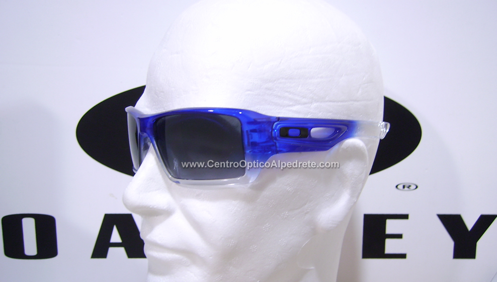 Oakley Eyepatch2 Blue Clear Fade / Black Grey Gradient (OO9136-02)