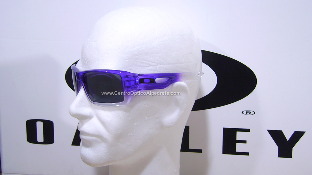 Oakley Eyepatch2 Purple Clear Fade / Grey Polarized (OO9136-10)