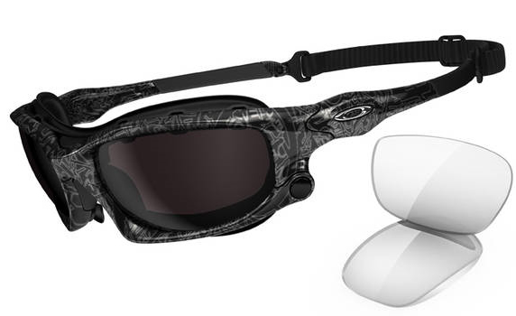 d4286a120d Oakley Radar Silver Black Ghost Text