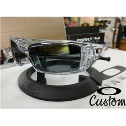 Gascan Custom Polished Clear / Grey Polarized (OO9014-6396)