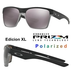TwoFace XL Matte Black / Prizm Daily Polarized (OO9350-02)