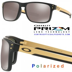 Holbrook Mix Matte Black / Prizm Black Polarized (OO9384-09)