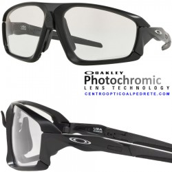 Field Jacket Matte Black / Clear Black Iridium Photochromic (OO9402-07)