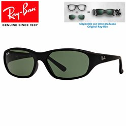 Ray-Ban Daddy-O Matte Black / Crystal Green (RB2016/W2578)