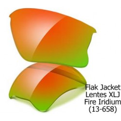 Flak Jacket Lentes XLJ Fire Iridium (13-658)