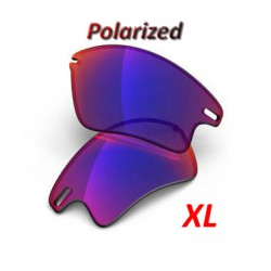 Fast Jacket XL Lentes OO Positive Red Iridium Polarized (43-464)