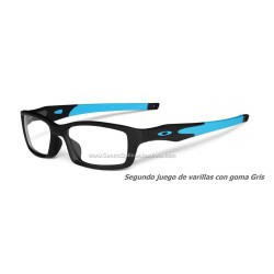 Oakley Crosslink Satin Black - Sky Blue (OX8027-01)