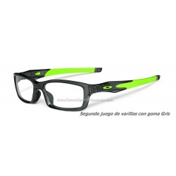 Oakley Crosslink Grey Smoke - Retina Burn (OX8027-02)
