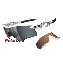 RadarLock Path Matte White / Grey Polarized (OO9181-20)