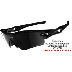 Radar Path Jet Black/ Black Iridium Polarized (09-674)