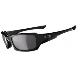 Fives Squared Polished Black / Black Iridium Polarized (OO923804)
