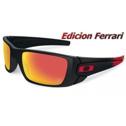 Fuel Cell Ferrari Matte Black / Ruby Iridium (OO9096-A8)