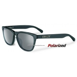 Frogskins LX Polished Black / Black Iridium Polarized (OO2043-04)