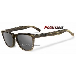 Frogskins LX Banded Green / Grey Polarized (OO2043-09)
