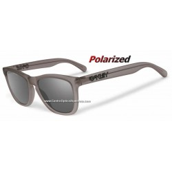 Frogskins LX Satin Smoke / Black Iridium Polarized (OO2043-10)
