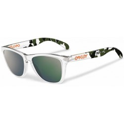 Frogskins Koston Edition Clear Camo / Emerald Iridium (24-436)