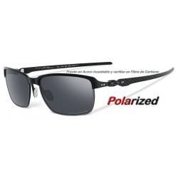 Tinfoil Carbon Satin Black / Black Iridium Polarized (OO6018-02)