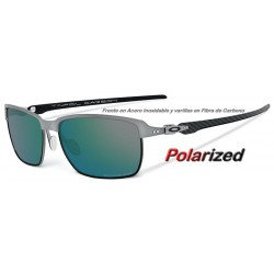 Tinfoil Carbon Lead / Emerald Iridium Polarized (OO6018-04)