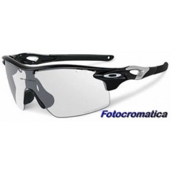 RadarLock XL ST Polished Black / Clear Black Iridium Photochromic (OO9196-07)