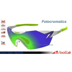 Bolle 6th Sense Shiny White/Lime Modulator Green Emerald Oleo AF (11840)