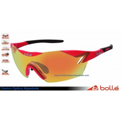 Bolle 6th Sense Shiny Red/Gray Fire Oleo AF (11841)