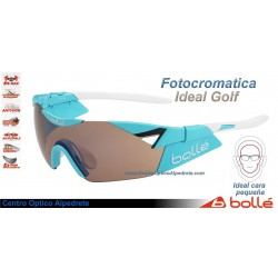 Bolle 6th Sense S Shiny Blue Modulator Rose Gun Oleo AF (11916)