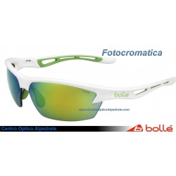 Bolle Bolt Shiny White Green Edge Modulator Green Emerald Oleo AF (11773)