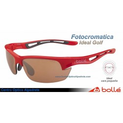 Bolle Bolt Shiny Red Modulator V3 Golf Oleo AF (12008)