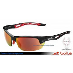 Bolle Bolt S Shiny Matte Black TNS Fire Oleo (11776)