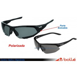 Bolle Breakaway Shiny Black Gray Polarized TNS oil (11846)