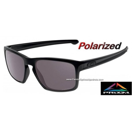 Sunglasses Oakley Sliver Polished Black Prizm Daily