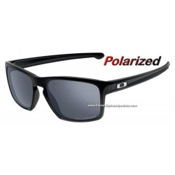 Sliver Polished Black / Black Iridium Polarized (OO9262-09)