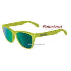 Frogskins Heaven and Eart Matte Fern/ Jade Iridiumm Polarized (OO9013-14)