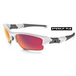 Flak Jacket XLJ Polished White / Prizm Road (OO9009-07)