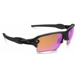 Flak 2.0 XL Polished Black / Prizm Trail (OO9188-06)