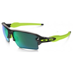 Flak 2.0 XL Black Ink / Jade Iridium Polarized (OO9188-09)
