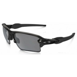 Flak 2.0 XL Polished Black / Black Iridium Polarized (OO9188-08)