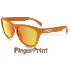 Frogskins FingerPrint Atomic Orange / Fire Iridium (OO9013-53)