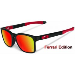 Catalyst Ferrari Matte Black / Ruby Iridium (OO9272-07)