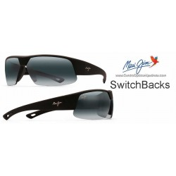 SwitchBacks Negro Mate / Gris Neutro (523-02MR)