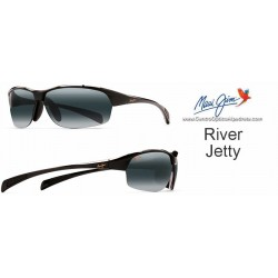 River Jetty Negro Brillo / Gris Neutro (430-02)