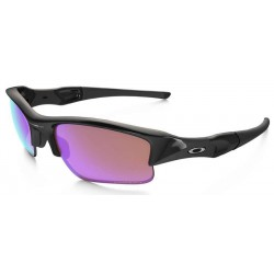 Flak Jacket XLJ Polished Black / Prizm Golf (24-428)