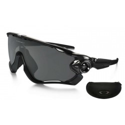 Jawbreaker Polished Black / Black Iridium Polarized (OO9290-07)