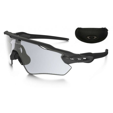 Radar EV Steel / Clear Black Iridium Photochromic (OO9208-13)