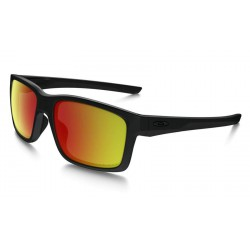 Mainlink Matte Black / Ruby Iridium Polarized (OO9264-07)