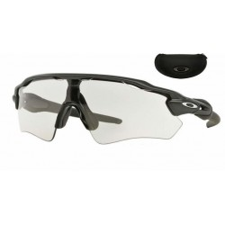 Radar EV Polished Black / Clear Black Iridium Photochromic (OO9208-45)