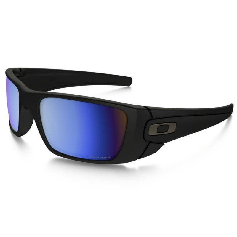 Fuel Cell Matte Black Prizm Deep Water Polarized Oo9096 D8