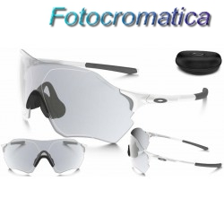 EVZero Range Matte White / Clear Black Iridium Photochromic (OO9327-08)