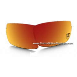 Carbon Blade Lente de repuesto Ruby Iridium Polarized (OO9174-06L)
