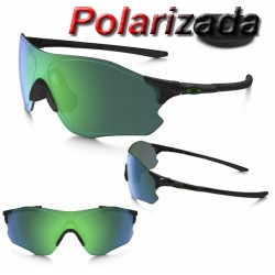 EVZero Path Polished Black / Jade Iridium Polarized (OO9308-08)